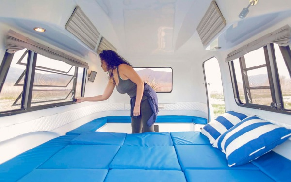 happier camper transforms into different options