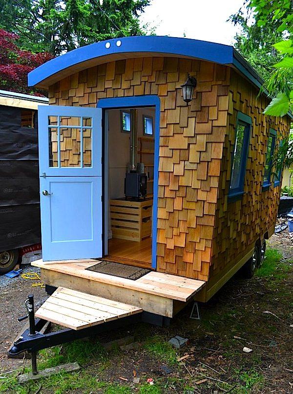 Hornby Island Caravans Tiny House on Wheels