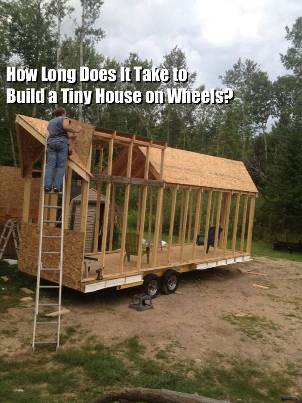 Q A How Long Does It Take To Build A Tiny House