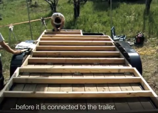 How To Floor And Frame A Tumbleweed Tiny House On A