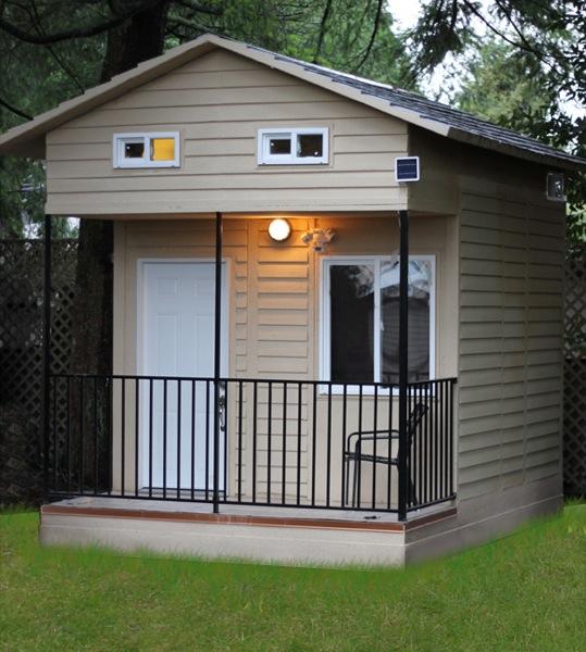 Tiny Home Designs: 100 Sq. Ft. Hummingbird Tiny House With Loft
