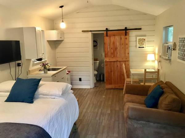 Garage Converted into 320 Sq. Ft. Backyard Cottage!
