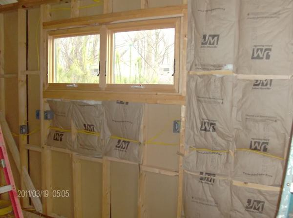 Insulation in Tiny Cabin