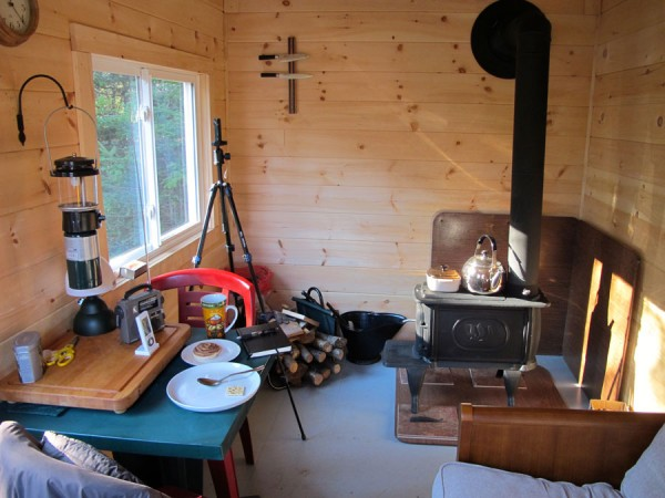 Simple Living In A Tiny Cabin On An Island