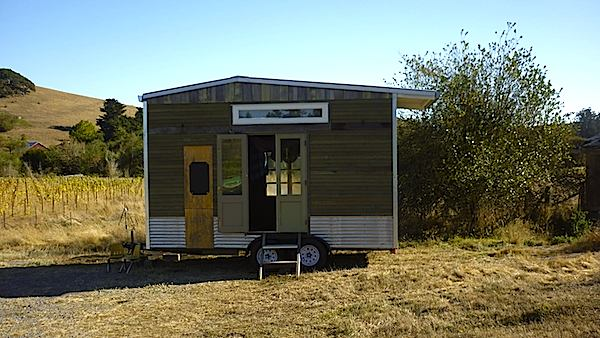 Jenine Alexander's Reclaimed Tiny House for Sale