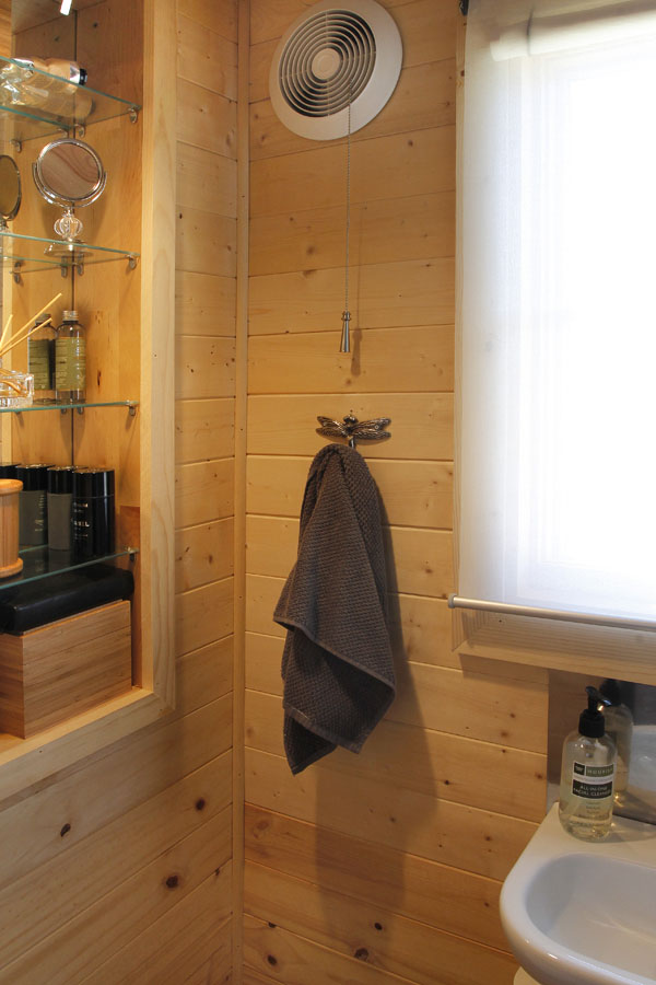 JT's Bathroom in his Tiny House