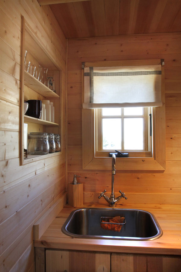 JT's Tumbleweed Tiny House Kitchen