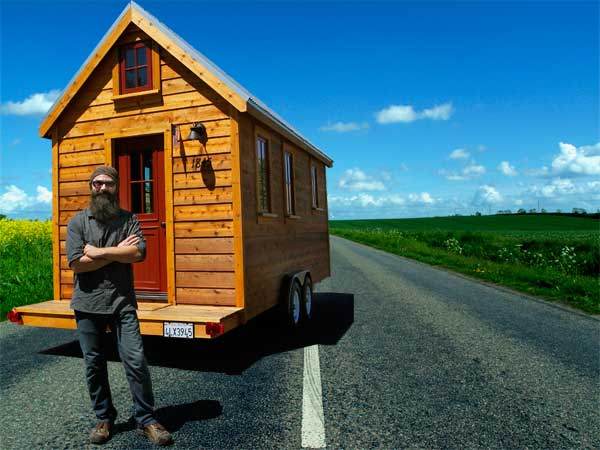 JT's Tumbleweed Tiny House on the Road