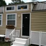 Kathy's Tiny House - Built and Designed by Dan Louche, her son