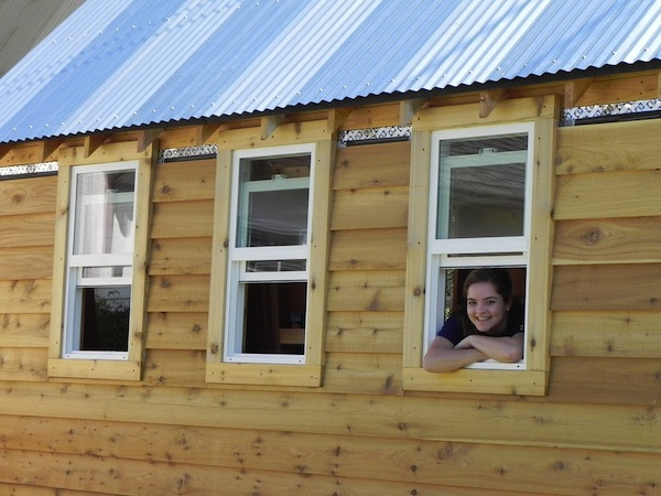 Kendall of Nerd Girl Homes: Tiny Houses for a Good Cause
