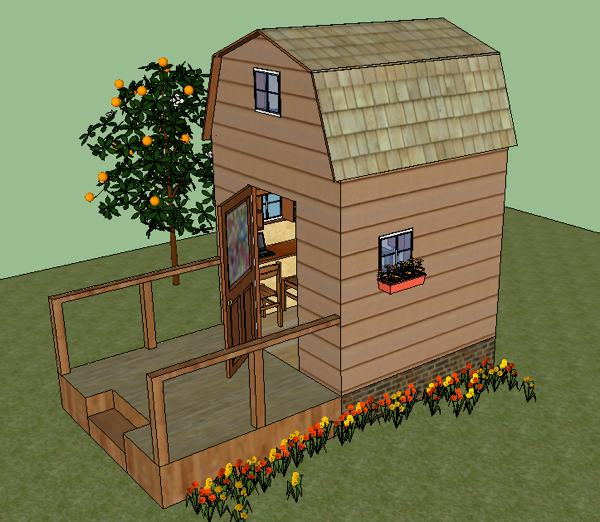 LaMar's 8x8 Tiny House Design