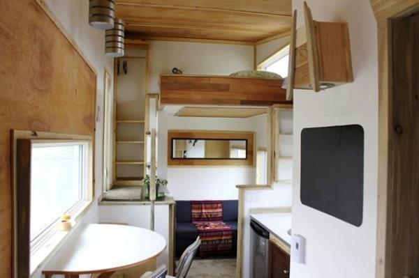 Leafhouse Tiny Home Interior