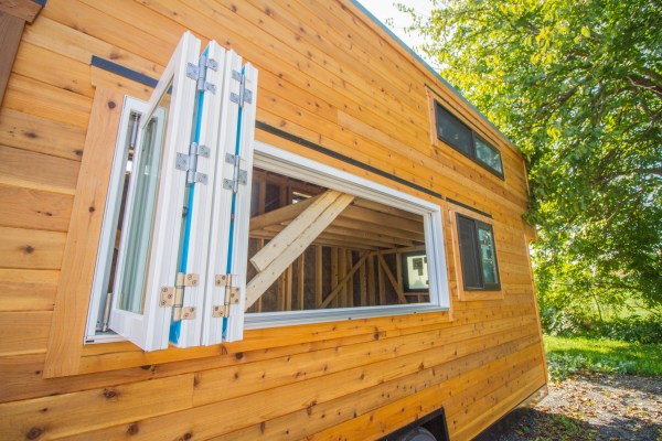 32' x 10' Tiny House Shell by Liberation Tiny Homes
