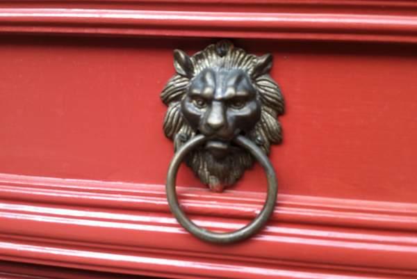 Lion Door Knob at Epcot
