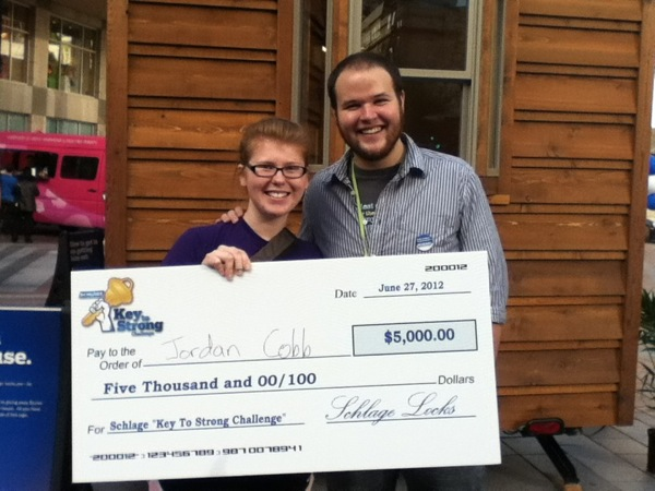 Winner of Key to Strong Challenge from Schlage and Seattle Tiny Homes