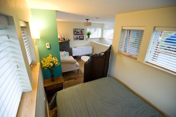 Loft Bedroom in Small Home