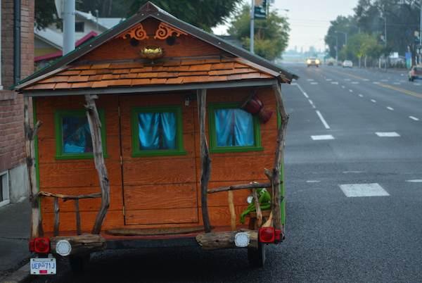 Love Shack Adventures: Their Tiny House on a Trailer