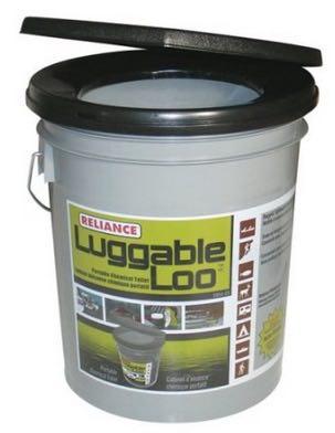 Luggable Loo Portable Composting Toilet Bucket