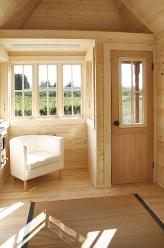 Fencl Tiny House Interior Pictures