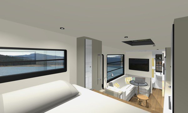 Mcm Design custom truck rv modern motorhome living or a tiny house