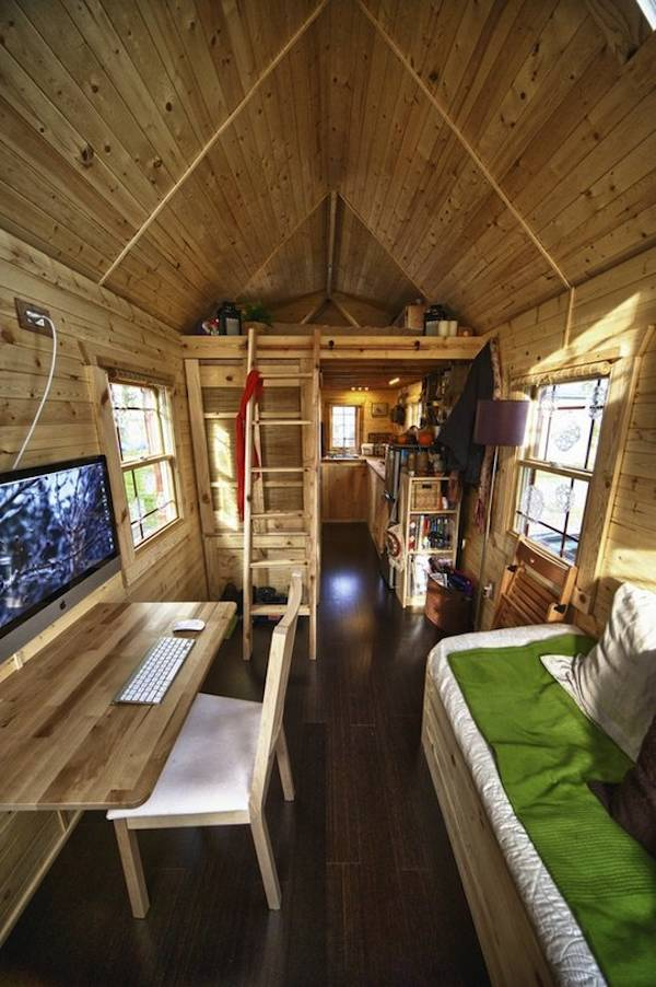 Malissa's Tiny House on Apartment Therapy