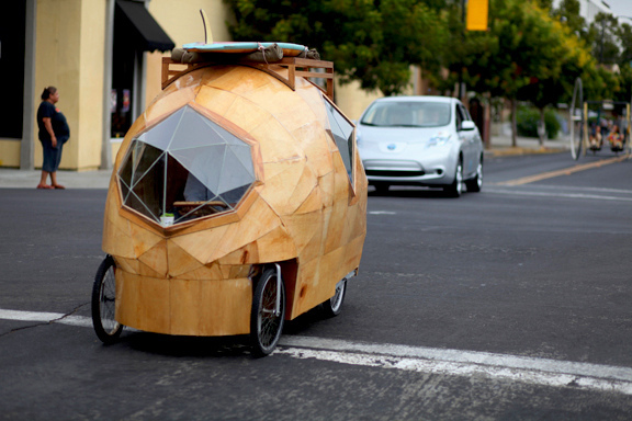 Jay Nelson's Micro Bicycle House Photo by Jack Halloway