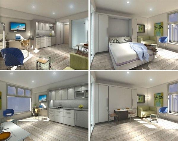 Vancouver's Micro Loft Tiny Apartments