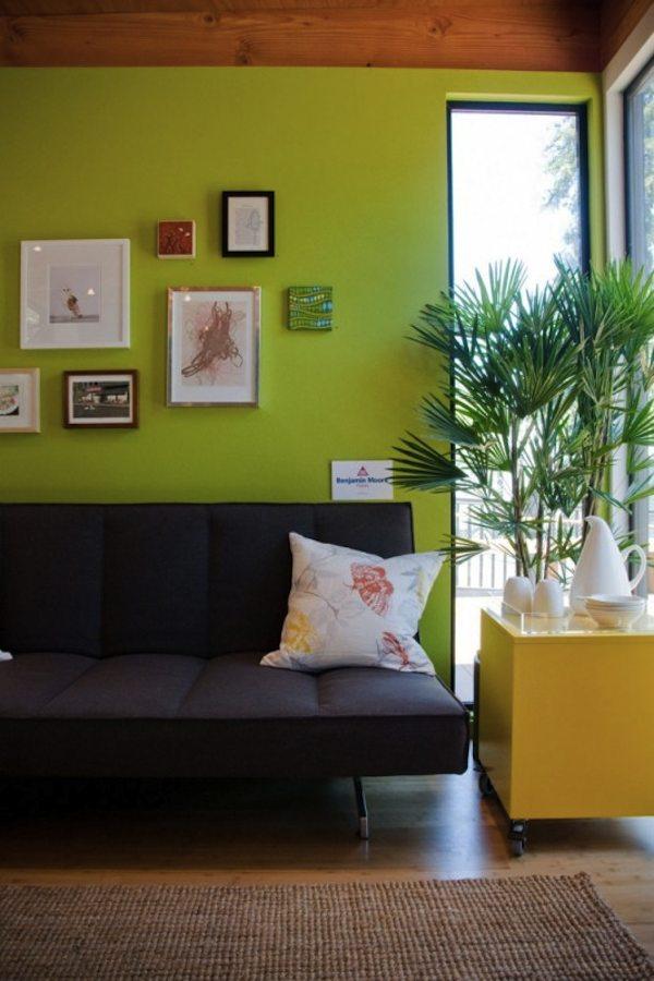 Living Area inside Tiny Modern Studio Cabana