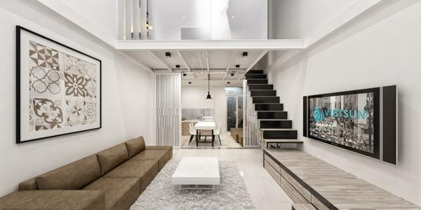 Tiny Modern Apartment