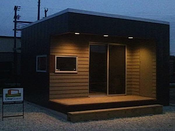 Tiny Modern Prefab Studio