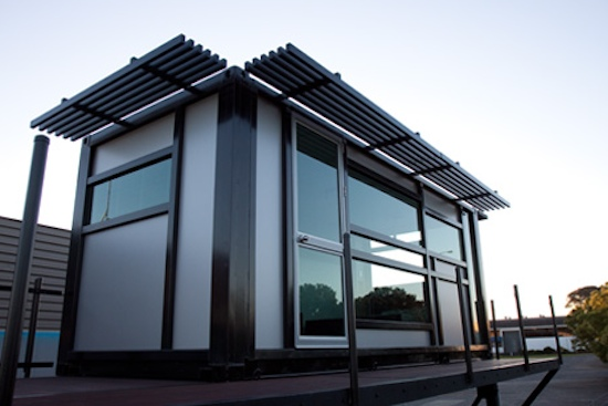 Modern Shipping Container Home - Prefab - One Cool Habitat
