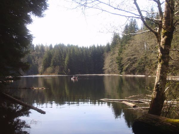 Nearby Mountain Lake