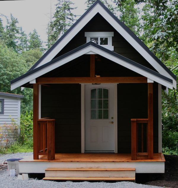 Mulfinger Tiny House front porch view