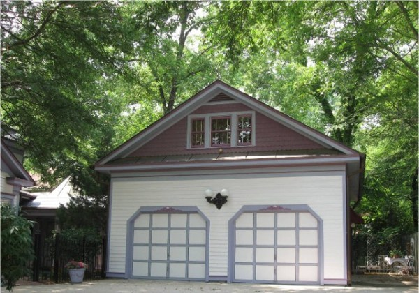 Woman Turns Historic Garage Into Little House