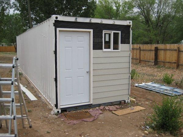 PFNC's Tiny Shipping Container Home