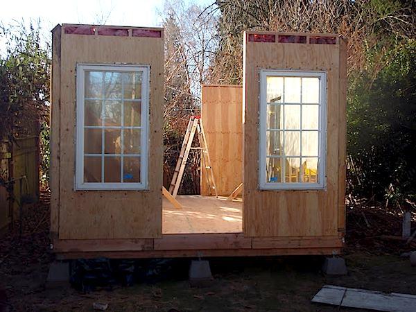 Tiny Cabin Construction