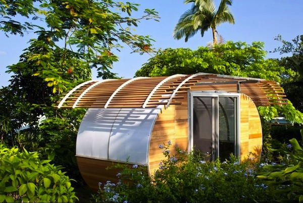 Prefab Tiny Home called the Housearc