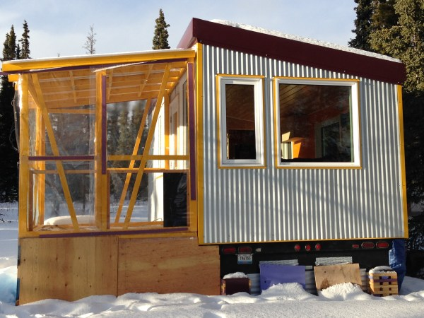 Spacious and bright tiny house on wheels for sale for Tiny homes for sale canada