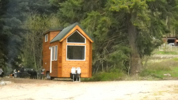 Rich The Cabin Man S Extra Long Tiny House On Wheels