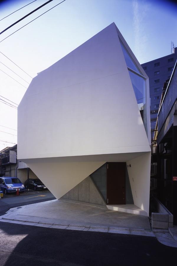 Modern Amp Minimalist Small House In Tokyo