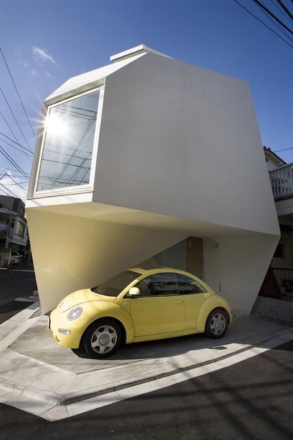 Minimalist & Modern Small House in Tokyo