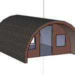 Rounded A Frame Tiny Cabin Design