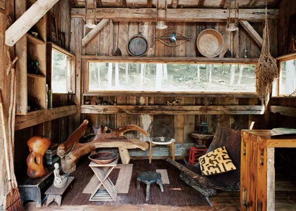 Small Rustic Cabin Completely Off-Grid (2)