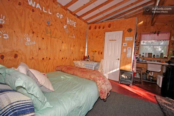 250 Sq Ft Rustic Micro Cabin In San Diego Ca
