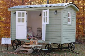 Pixie Palace Shepherd's Hut Tiny Houses