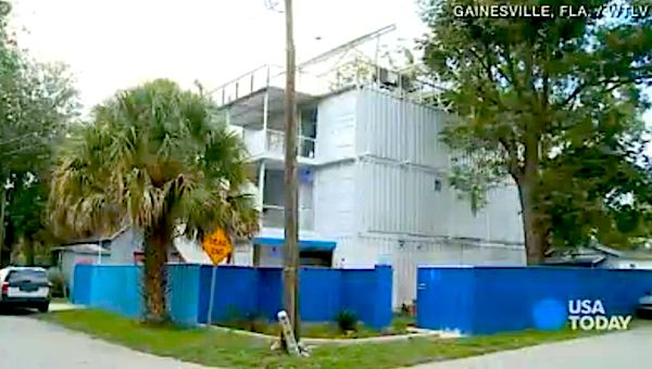 Shipping Container Home in Gainesville Florida