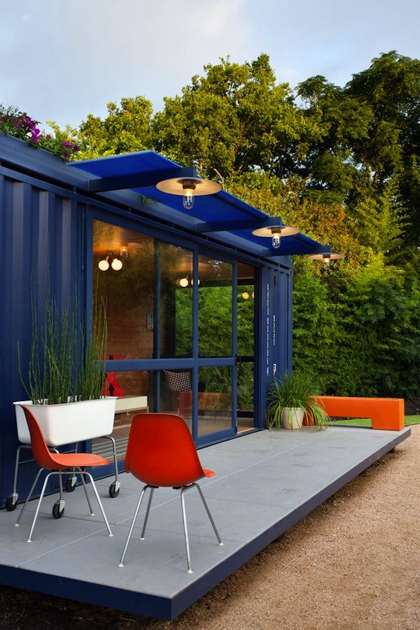Artist Community Container Studio Photo by Chris Cooper