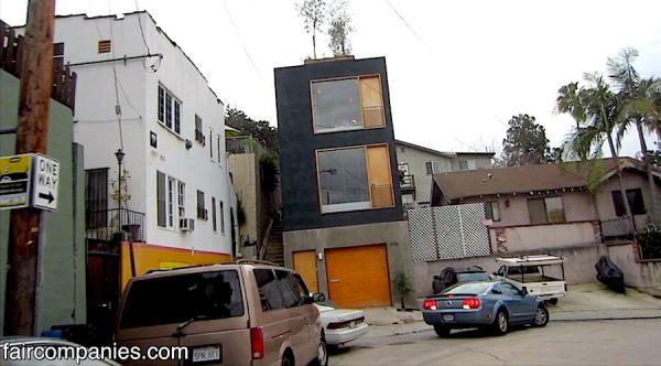 Skinny House in LA