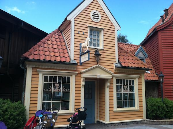 Small House Store at Epcot