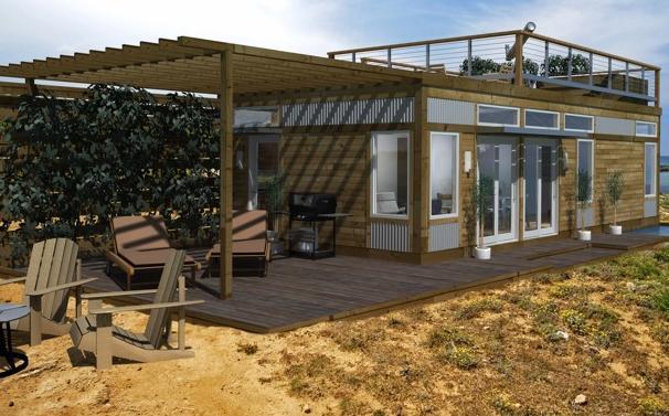 Small Prefab Houses By Blu Homes